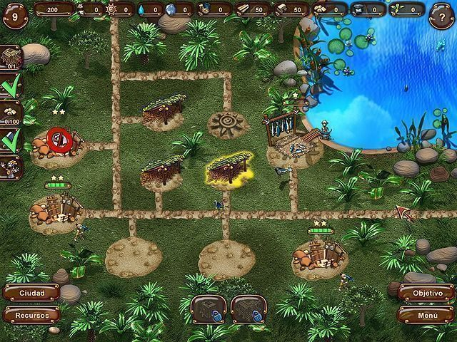 Aztec Tribe: New Land en Español game