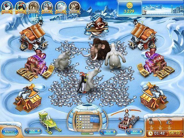 Farm Frenzy 3: La era de hielo en Español game