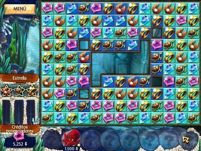Jewel Legends: Atlantis download free en Español