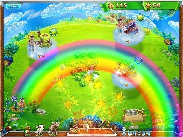 Snow Globe: Farm World en Español game