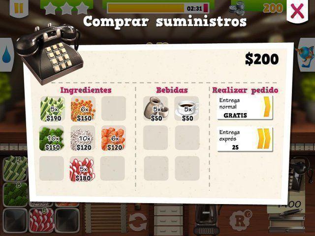 Youda Sushi Chef 2 en Español game
