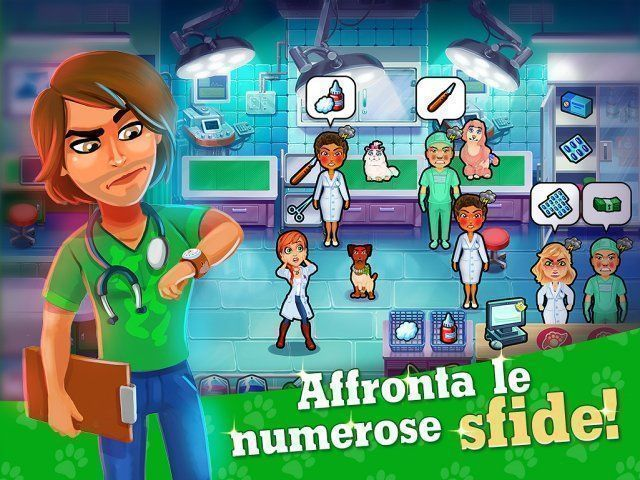 Gioco Dr. Cares: Pet Rescue 911. Edizione Speciale download italiano