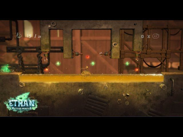 Ethan: Meteor Hunter game