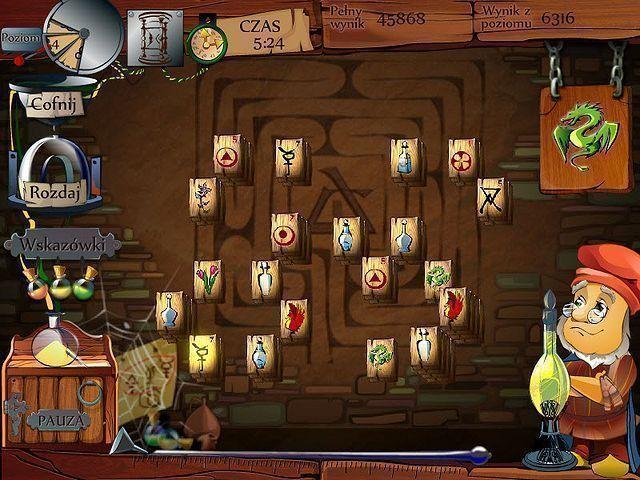 Alchemicznych Mahjong Gra Bezpłatne