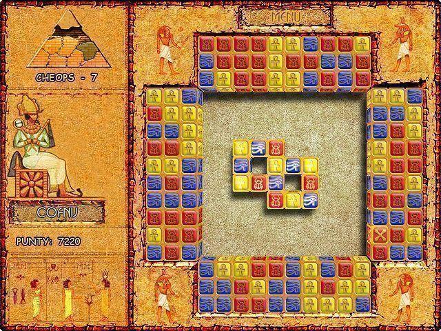 Brickshooter Egypt to nowatorska, pobudzająca do myślenia gra, którą cechuj